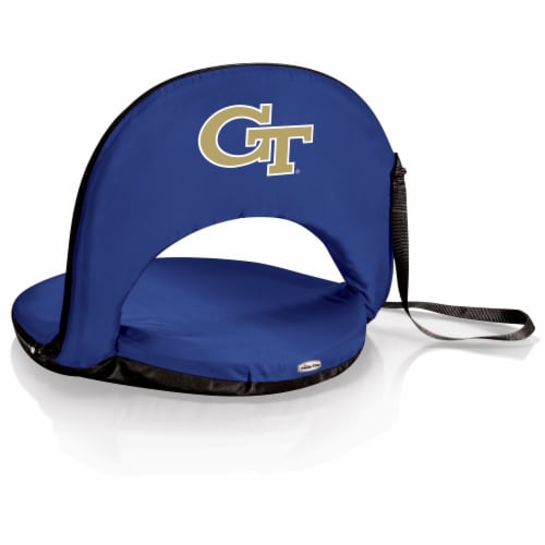 Georgia Tech Yellow Jackets - Oniva Portable Reclining Seat Perspective: front