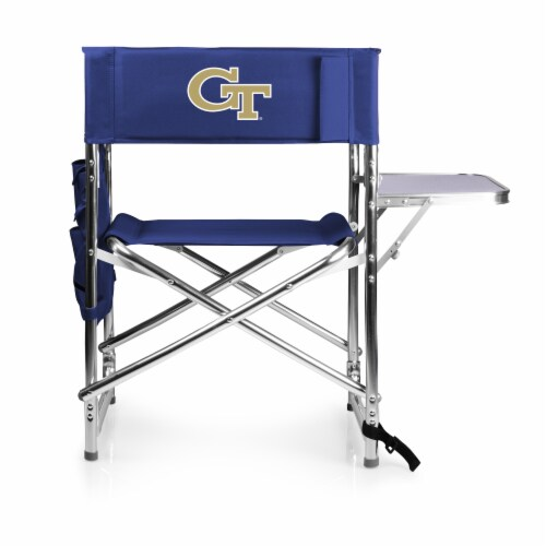 Georgia Tech Yellow Jackets - Sports Chair Perspective: front