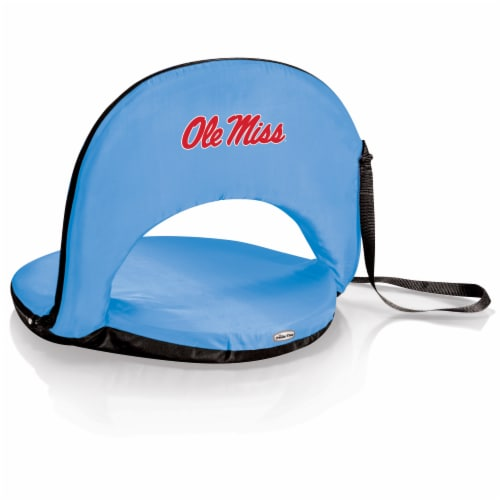 Ole Miss Rebels - Oniva Portable Reclining Seat Perspective: front