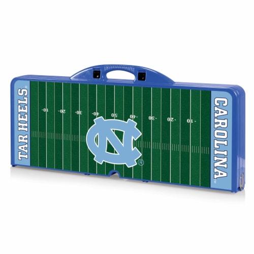 North Carolina Tar Heels Portable Picnic Table Perspective: front