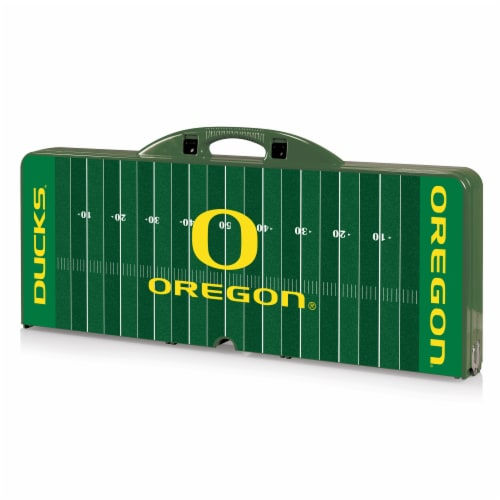 Oregon Ducks Portable Picnic Table Perspective: front