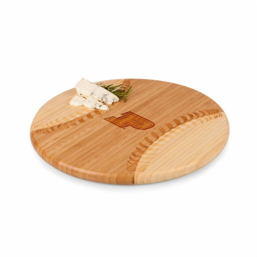 Purdue Boilermakers - Home Run! Baseball Cutting Board & Serving Tray Perspective: front