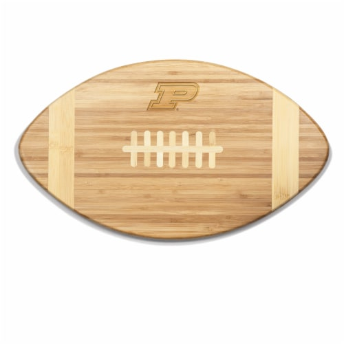 Purdue Boilermakers - Touchdown! Football Cutting Board & Serving Tray Perspective: front