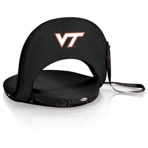 Virginia Tech Hokies - Oniva Portable Reclining Seat Perspective: front