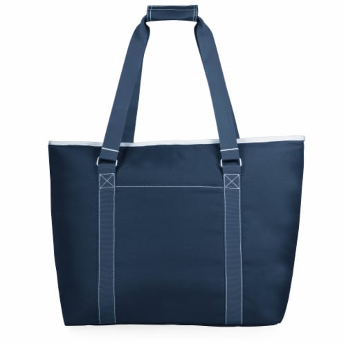 Tahoe XL Cooler Tote Bag, Navy Blue Perspective: front