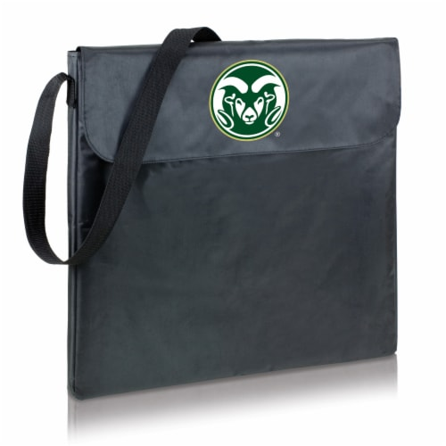 Colorado State Rams - X-Grill Portable Charcoal BBQ Grill Perspective: front