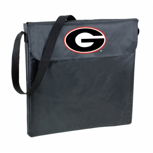 Georgia Bulldogs - X-Grill Portable Charcoal BBQ Grill Perspective: front