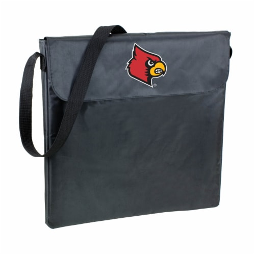 Louisville Cardinals - X-Grill Portable Charcoal BBQ Grill Perspective: front