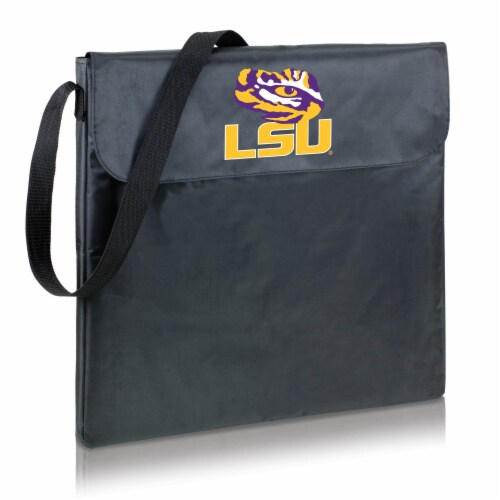 LSU Tigers - X-Grill Portable Charcoal BBQ Grill Perspective: front