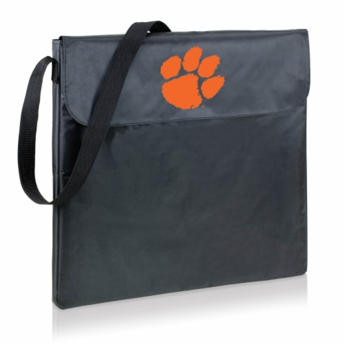 Clemson Tigers - X-Grill Portable Charcoal BBQ Grill Perspective: front