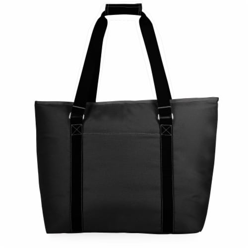 Tahoe XL Cooler Tote Bag, Black Perspective: front