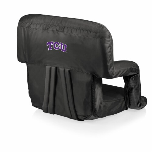 TCU Horned Frogs - Ventura Portable Reclining Stadium Seat Perspective: front