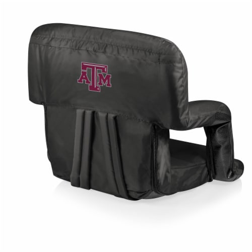 Texas A&M Aggies - Ventura Portable Reclining Stadium Seat Perspective: front