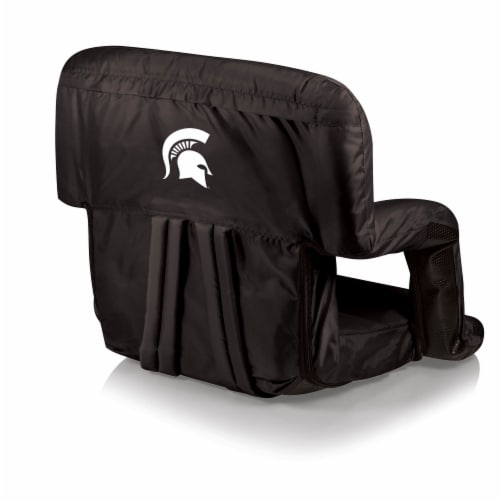 Michigan State Spartans - Ventura Portable Reclining Stadium Seat Perspective: front