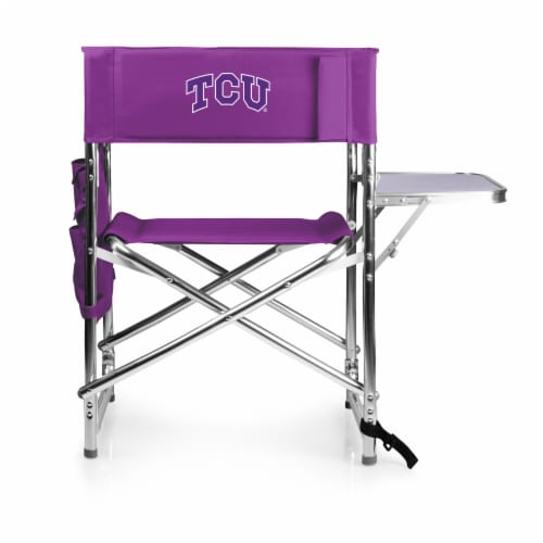 TCU Horned Frogs - Sports Chair Perspective: front