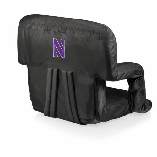 Northwestern Wildcats - Ventura Portable Reclining Stadium Seat Perspective: front