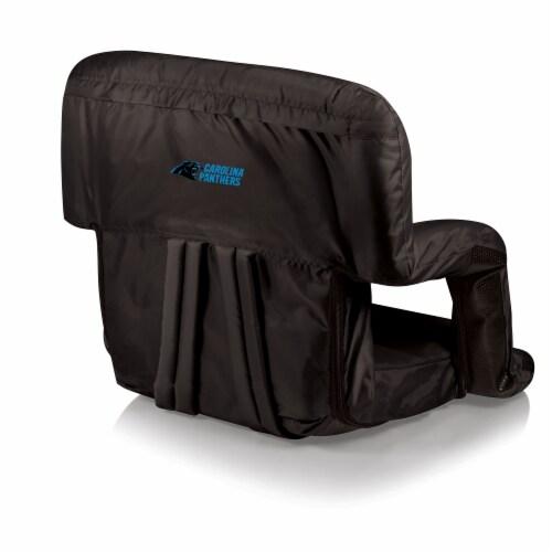 Carolina Panthers - Ventura Portable Reclining Stadium Seat Perspective: front
