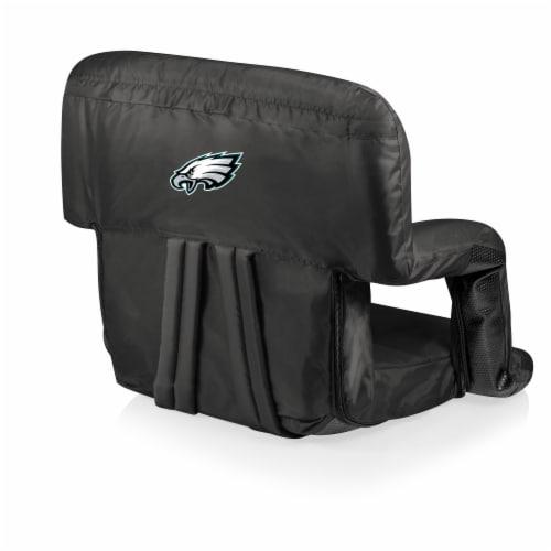 Philadelphia Eagles - Ventura Portable Reclining Stadium Seat Perspective: front