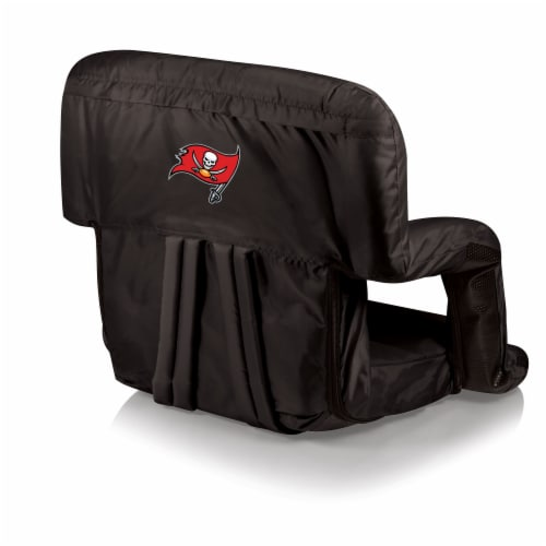 Tampa Bay Buccaneers - Ventura Portable Reclining Stadium Seat Perspective: front