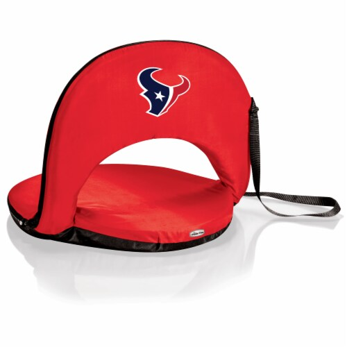Houston Texans - Oniva Portable Reclining Seat Perspective: front