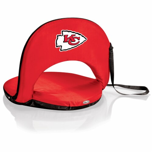 Kansas City Chiefs - Oniva Portable Reclining Seat Perspective: front