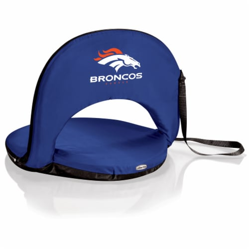 Denver Broncos - Oniva Portable Reclining Seat Perspective: front