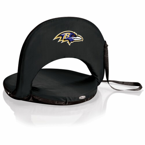 Baltimore Ravens - Oniva Portable Reclining Seat Perspective: front