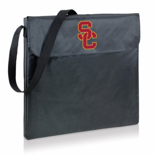 USC Trojans - X-Grill Portable Charcoal BBQ Grill Perspective: front