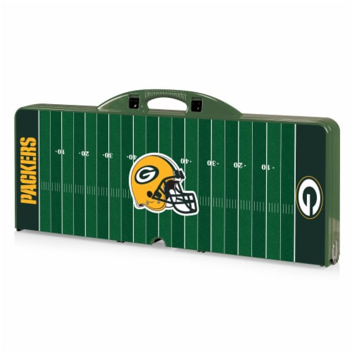 Green Bay Packers Portable Picnic Table Perspective: front