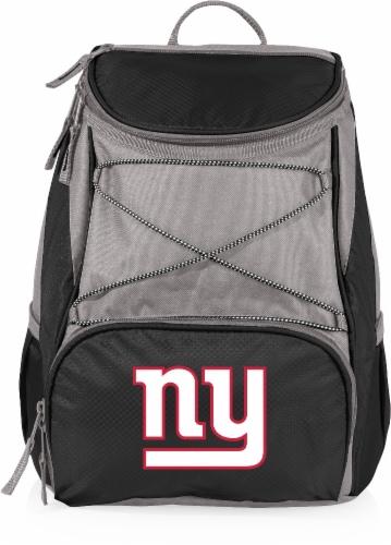 New York Giants  PTX Cooler Backpack - Black Perspective: front