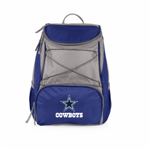 Dallas Cowboys  PTX Cooler Backpack - Navy Perspective: front