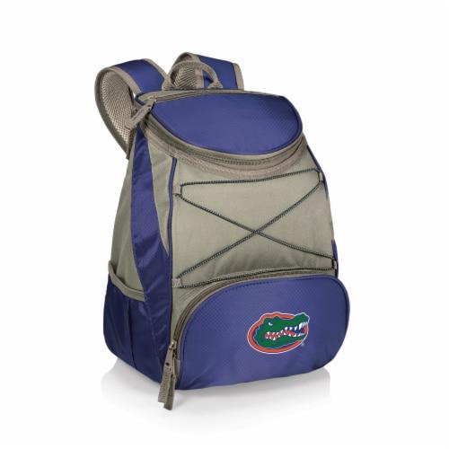 Florida Gators PTX Cooler Backpack - Navy Perspective: front