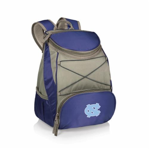North Carolina Tar Heels PTX Cooler Backpack - Navy Perspective: front