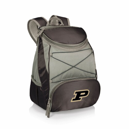 Purdue Boilermakers - PTX Backpack Cooler Perspective: front