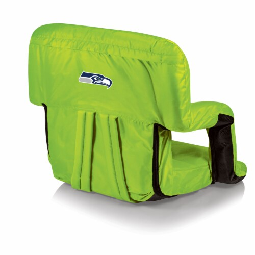 Seattle Seahawks - Ventura Portable Reclining Stadium Seat Perspective: front
