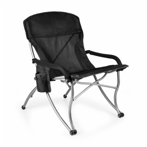 PT-XL Camp Chair, Black Perspective: front