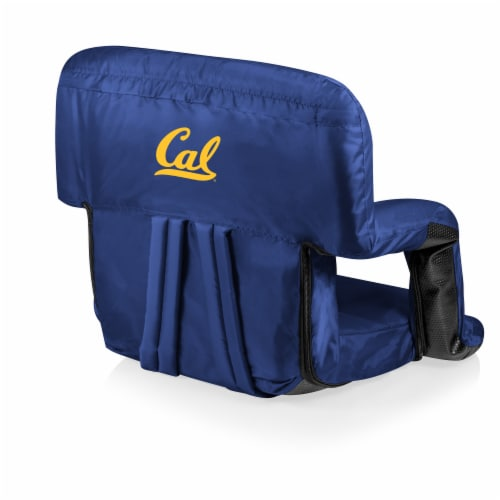 Cal Bears Ventura Portable Reclining Stadium Seat - Navy Perspective: front