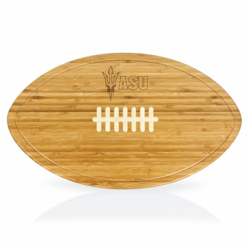 Arizona State Sun Devils - Kickoff Football Cutting Board & Serving Tray Perspective: front