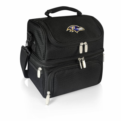 Baltimore Ravens - Pranzo Lunch Cooler Bag Perspective: front