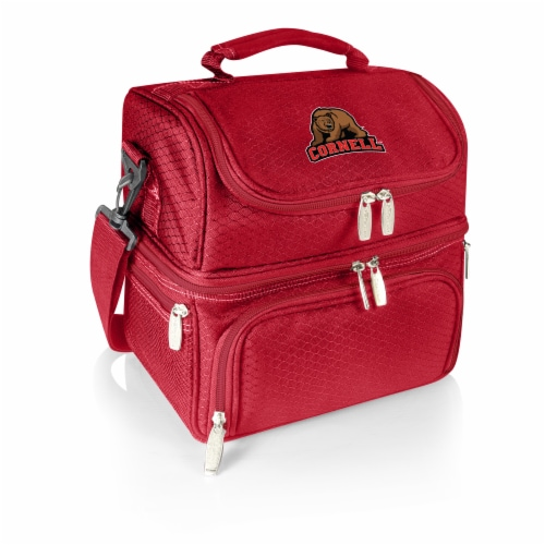 Cornell Big Red - Pranzo Lunch Cooler Bag Perspective: front
