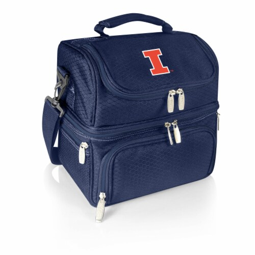 Illinois Fighting Illini - Pranzo Lunch Cooler Bag Perspective: front