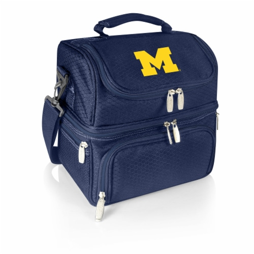 Michigan Wolverines - Pranzo Lunch Cooler Bag Perspective: front