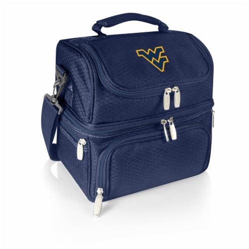West Virginia Mountaineers - Pranzo Lunch Cooler Bag Perspective: front