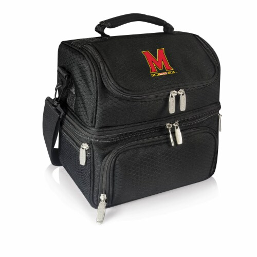 Maryland Terrapins - Pranzo Lunch Cooler Bag Perspective: front