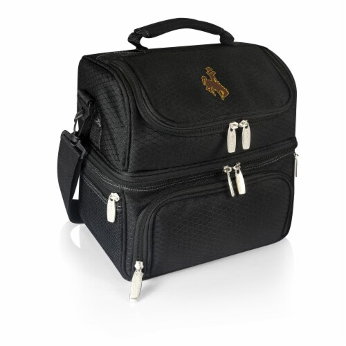 Wyoming Cowboys - Pranzo Lunch Cooler Bag Perspective: front