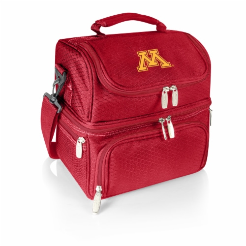 Minnesota Golden Gophers - Pranzo Lunch Cooler Bag Perspective: front