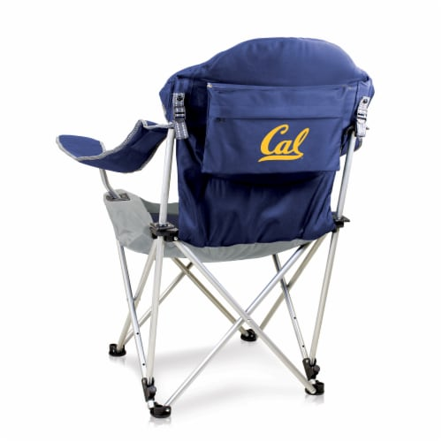 Cal Bears - Reclining Camp Chair Perspective: front
