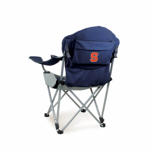 Syracuse Orange - Reclining Camp Chair Perspective: front