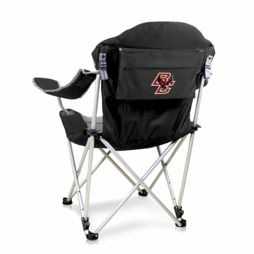Boston College Eagles - Reclining Camp Chair Perspective: front