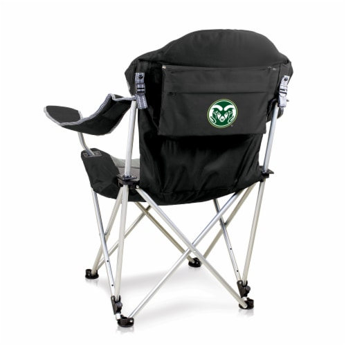 Colorado State Rams - Reclining Camp Chair Perspective: front